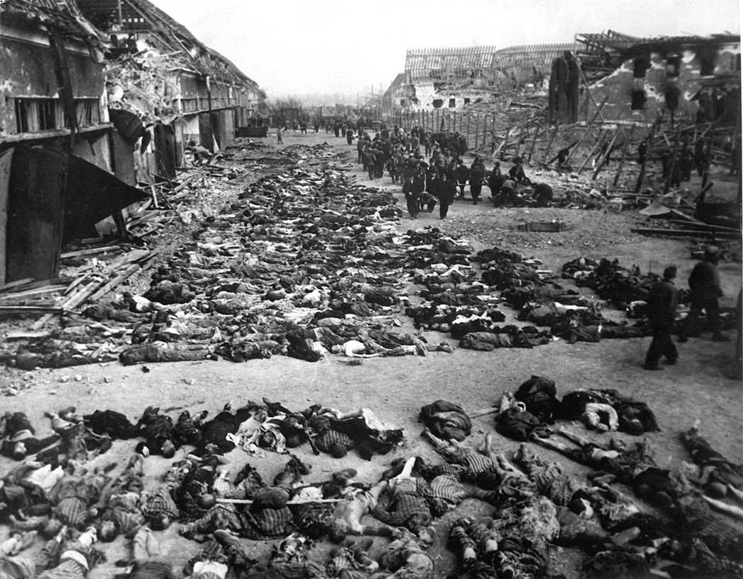 dead bodies at Nordhausen