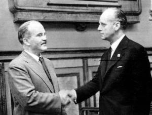Molotov and Ribbentrop