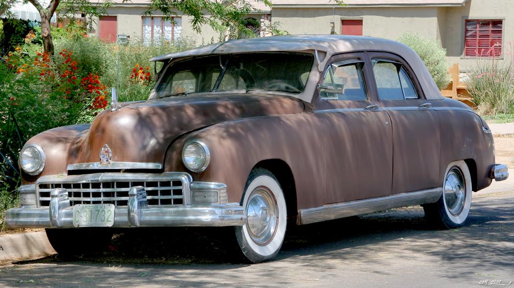 1949 Frazer sedan