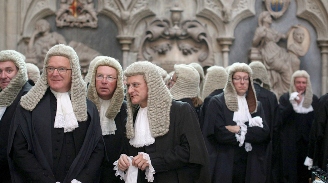Judges Attend The Annual Service At Westminster Abbey To Mark The Start Of The UK Legal Year