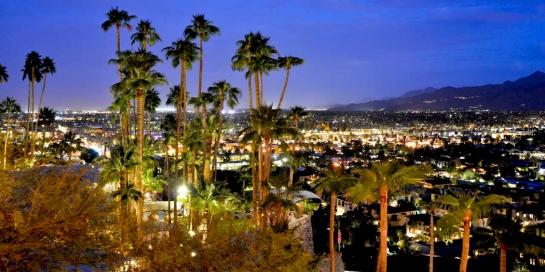 palm springs night