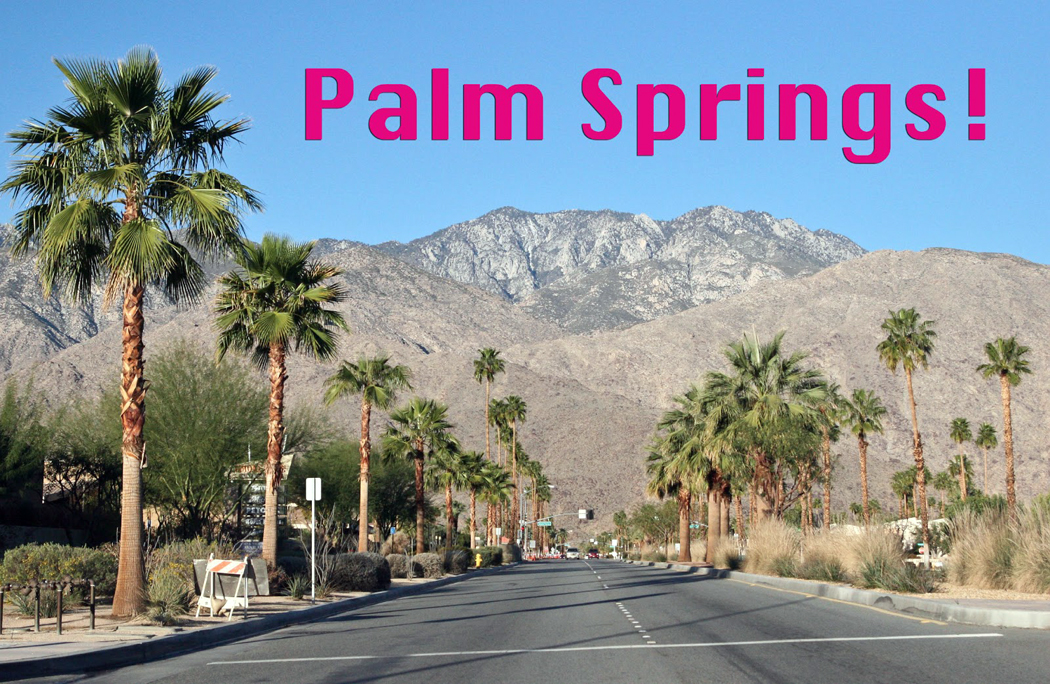 palm springs post card