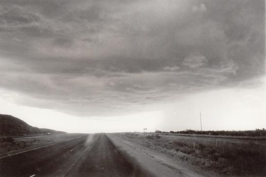 Rising storm, I-40 Texas
