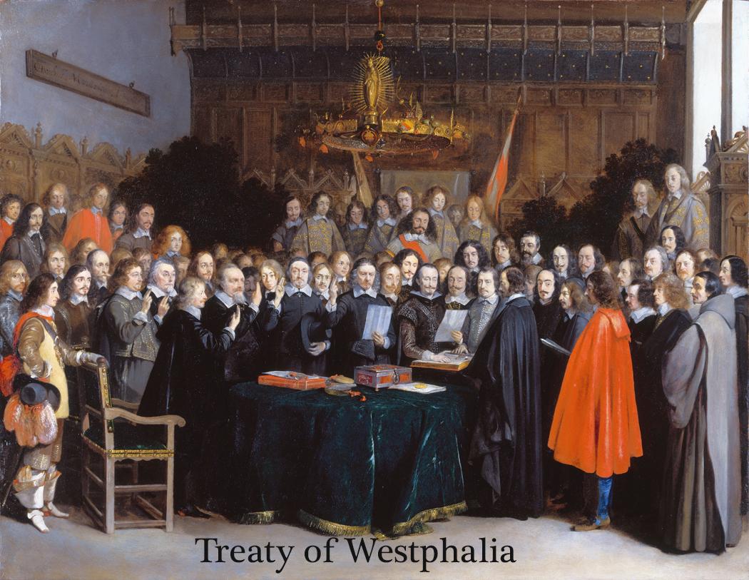 De ratificatie van de Vrede van Munster