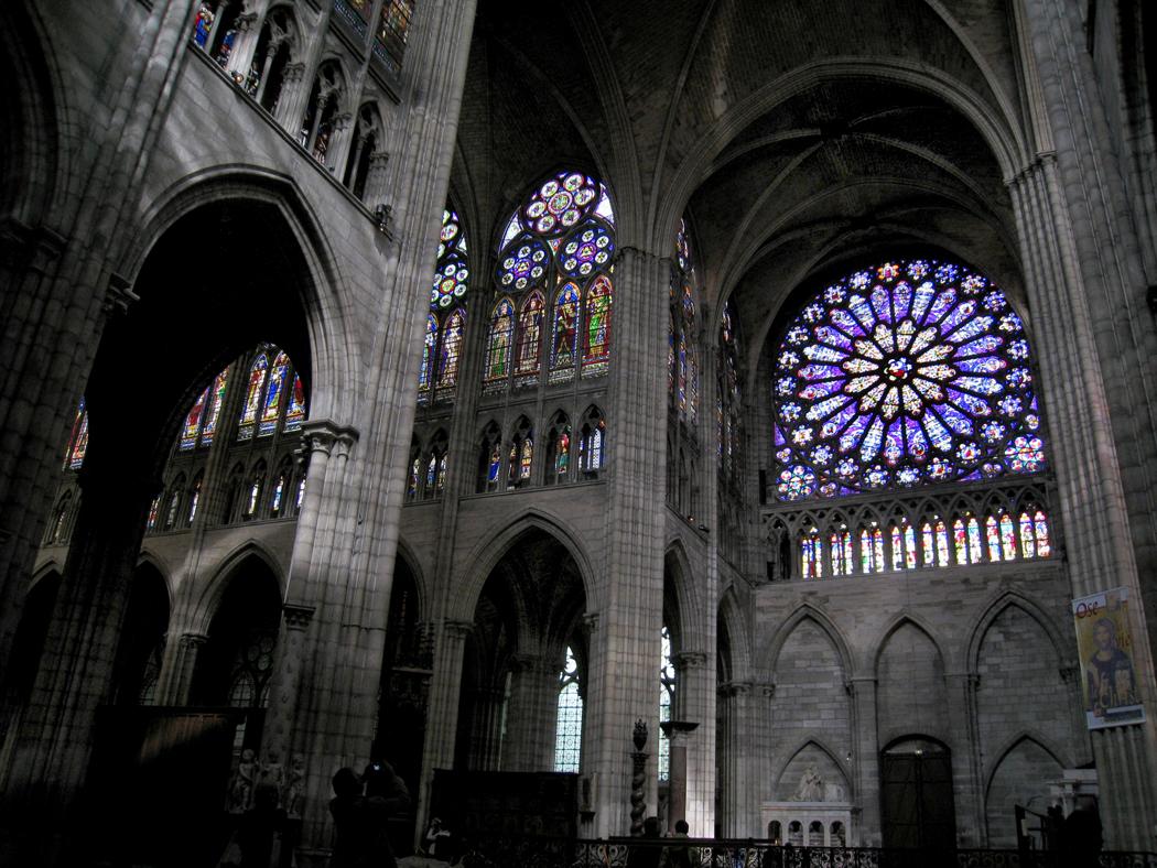 Abbey of Saint-Denis (Paris). Basilica of Saint-Denis. Sights of France 94