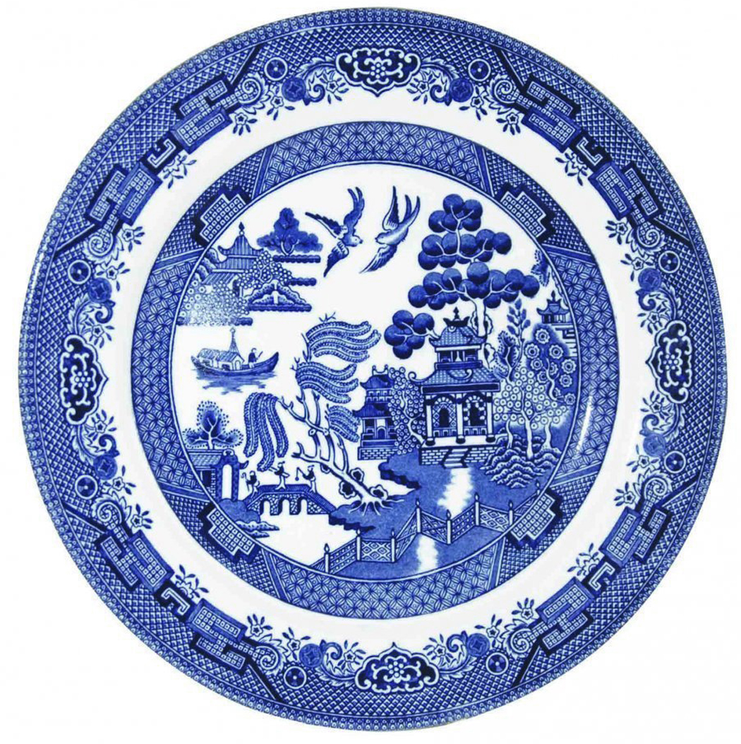 She also had a thing for Blue Willow ware and collected platters and plates bowls and tureens in the pattern. Some so old their whites had begun to turn ...  sc 1 st  Richard Nilsen & Heinrich Schliemann | Richard Nilsen